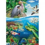 Puzzle  Cobble-Hill-54628 Pièces XXL - Earth Day