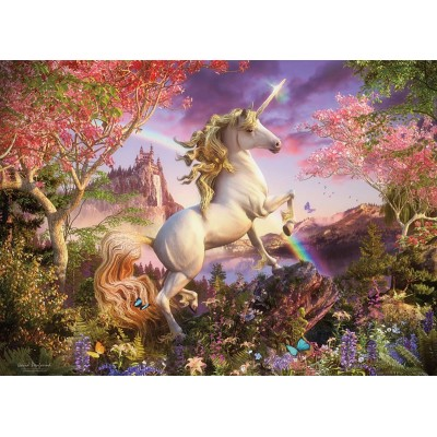 Puzzle Cobble-Hill-54634 Pièces XXL - Realm of the Unicorn