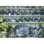 Puzzle  Cobble-Hill-57151 Porcelaine Chinoise