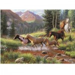Puzzle  Cobble-Hill-57184 Pièces XXL - Mountain Thunder