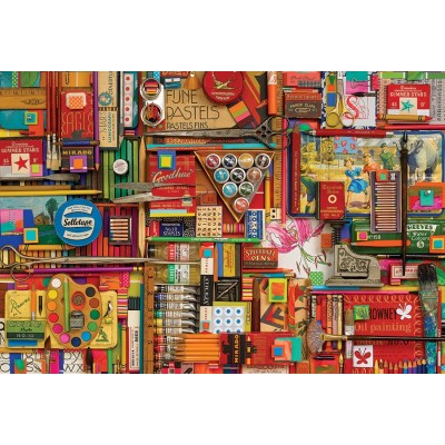Puzzle Cobble-Hill-57197 Shelley Davies - Vintage Art Supplies