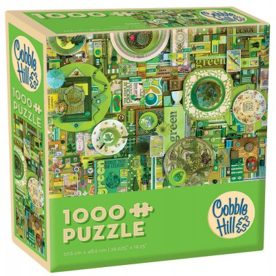 Puzzle Cobble-Hill-57217 Green