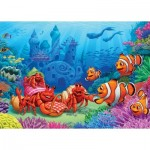 Puzzle  Cobble-Hill-58882 Clownfish Gathering