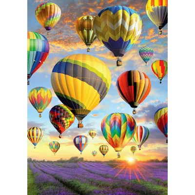 Puzzle Cobble-Hill-70050 Jack Pine - Hot Air Balloons