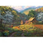 Puzzle  Cobble-Hill-80045 Country Blessings