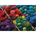 Puzzle  Cobble-Hill-80060 Plenty of Yarn