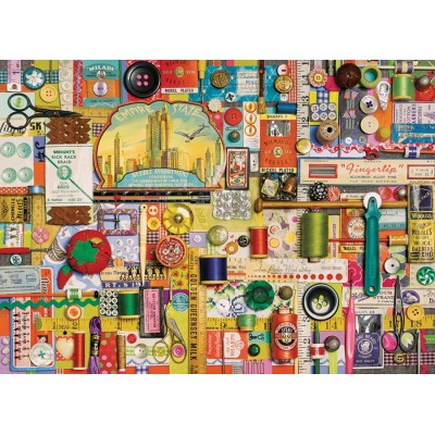 Puzzle Cobble-Hill-80098 Shelley Davies - Sewing Notions
