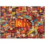 Puzzle  Cobble-Hill-80173 Fire
