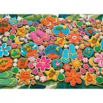 Puzzle  Cobble-Hill-80330 Tropical Cookies
