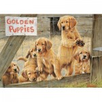 Puzzle  Cobble-Hill-85019 Pièces XXL - Golden Puppies