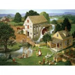 Puzzle  Cobble-Hill-85024 Pièces XXL - Four Star Mill