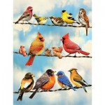 Puzzle  Cobble-Hill-85034 Pièces XXL - Birds on a Wire
