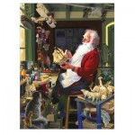 Puzzle  Cobble-Hill-85043 Pièces XXL - Santa's Workbench