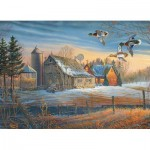 Puzzle  Cobble-Hill-85048 Pièces XXL - Farmstead Flyby