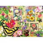 Puzzle  Cobble-Hill-85062 Pièces XXL - Butterfly Magic