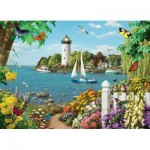 Puzzle  Cobble-Hill-85076 Pièces XXL - By the Bay