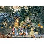 Puzzle  Cobble-Hill-85085 Pièces XXL - Halloween Buddies