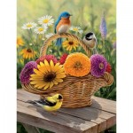 Puzzle  Cobble-Hill-88012 Pièces XXL - Summer Bouquet
