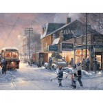 Puzzle  Cobble-Hill-88013 Pièces XXL - Hockey Night
