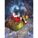 Puzzle  Cobble-Hill-88025 Pièces XXL - Merry Christmas to All