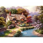 Puzzle  Perre-Anatolian-1047 Duck Path Cottage