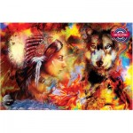 Puzzle  Perre-Anatolian-4562 Wolf Maiden