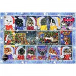 Puzzle   Christmas Cats