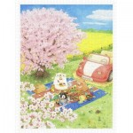 Puzzle   ちっぷ - Cherry Blossom Picnic Day