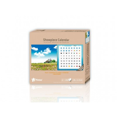 Puzzle Pintoo-H1477 Calendrier Showpiece - A Fine Day