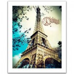 Pintoo-H1486 Puzzle en Plastique - France, Paris : La Tour Eiffel