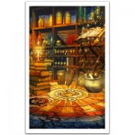 Pintoo-H1494 Puzzle en Plastique - Fantasy Magic Room