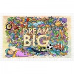 Pintoo-H1671 Puzzle en Plastique - Dream Big