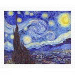 Pintoo-H1758 Puzzle en Plastique - Vincent Van Gogh - The Starry Night, June 1889