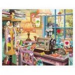 Pintoo-H1932 Puzzle en Plastique - Steve Read - Sewing Shed