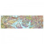 Pintoo-H1954 Puzzle en Plastique - Tom Parker - Dino City and Bay