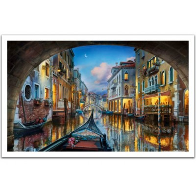 Pintoo-H2065 Puzzle en Plastique - Evgeny Lushpin - Love is in the Air