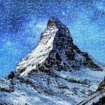 Pintoo-H2066 Puzzle en Plastique - Light of Zermatt, Switzerland