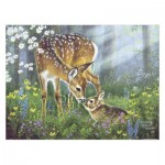 Pintoo-H2067 Puzzle en Plastique - Abraham Hunter - Forest Friends