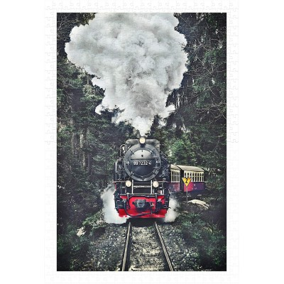 Pintoo-H2159 Puzzle en Plastique - The Steam Train, Switzerland