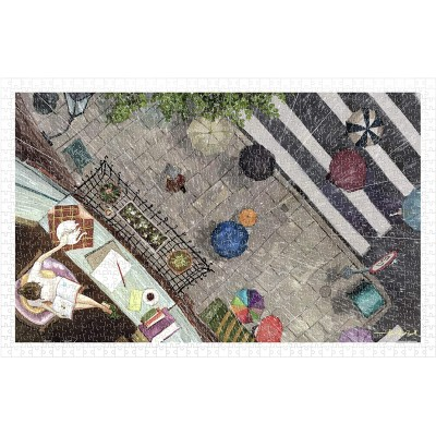 Puzzle Pintoo-H2178 Endmion1 - Scenery in the Rain