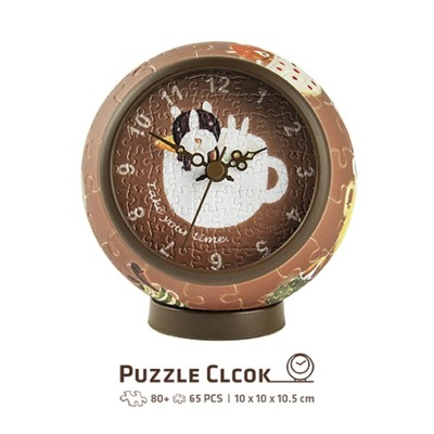 Pintoo-KC1002 Puzzle 3D Clock - Nan Jun - Take Your Time