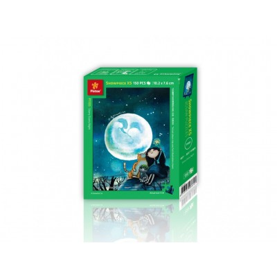 Pintoo-P1105 Puzzle en Plastique - Starry Night