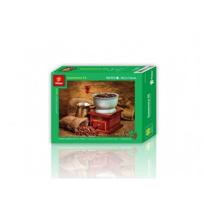 Pintoo-P1108 Puzzle en Plastique - Coffee in an Old Style