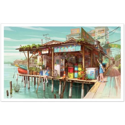 Puzzle Pintoo-PH1008 Fun Snack Shack