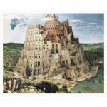 Puzzle en Plastique - Brueghel Pieter - Tower of Babel, 1563