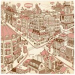Puzzle en Plastique - Happiness Town
