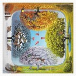 Puzzle en Plastique - Jacek Yerka - Apple Tree