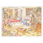 Puzzle en Plastique - Kim Jacobs - Undisturbed in The Study