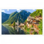 Puzzle en Plastique - Lakeside Village of Hallstatt, Austria