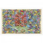 Puzzle en Plastique - Mystical Castle